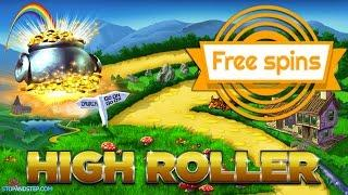 High Roller Slots - Betting Shop Gambling - Rainbow Riches and Thai Flower Slots