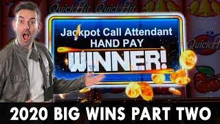 ★ Slots ★ 2020 BIG WINS PART 2 ★ Slots ★ HANDPAY on High Stakes! ★ Slots ★ HUGE Heart Throb Bonus! B