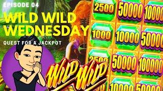 ⋆ Slots ⋆WILD WILD WEDNESDAY!⋆ Slots ⋆ QUEST FOR A JACKPOT [EP 04] ⋆ Slots ⋆ WILD WILD EMERALD Slot