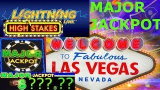HUGE WIN - LIGHTNING LINK SLOT MACHINE MAJOR JACKPOT - MINIMUM BET!