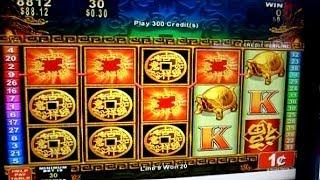 270 Free Games on China Mystery - 1C Konami Video Slots