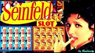 •NEW GAME• SEINFELD slot machine Live play with BONUS WINS! (FIRST TRY)