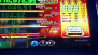 BIG WIN - Hot Shot Progressive Slot Machine Bonus