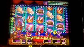 Live Lobsters Dancing Lively Slot Bonus - WMS