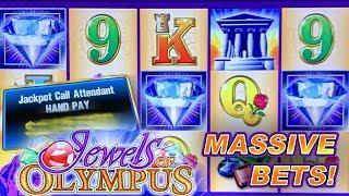 JEWELS OF OLYMPUS ★ Slots ★ HIGH LIMIT BONUS & JACKPOT ★ Slots ★ HANDPAY
