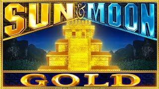 Sun & Moon Gold Slot - NICE SESSION, ALL FEATURES!