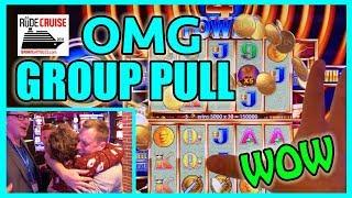 • OMG Amazing 500xBet GROUP PULL JACKPOT! • Aboard the 'RUDIES' Princess!• • BC Slot Cruise