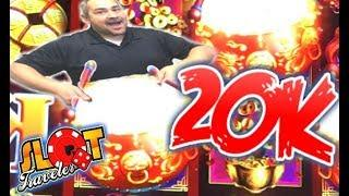• THANK YOU! • DANCING DRUMS GRAND 20K CELEBRATION • Slot Traveler