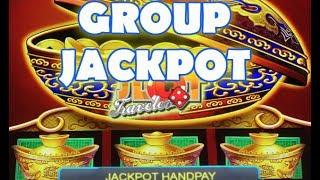 • JACKPOT HANDPAY • HIGH LIMIT GROUP SLOT PLAY | DANCING IN ARIZONA