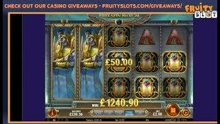 Sunday Slots Bonus Compilation inc Rise of Dead (Book of Dead 2), Temple of Treasure Buys & more....