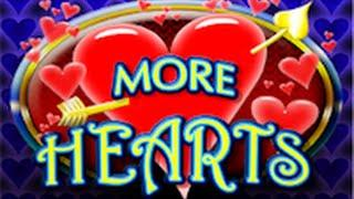 MORE HEARTS - Aristocrat Free Feature Bonus Win