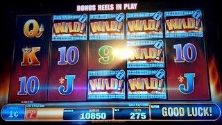 Blazing Jackpots Wild Huskies Slot Machine *BIG WIN* Bonus!