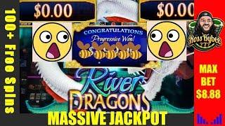 River Dragons Progressive Chase MEGA JACKPOT! @ Winstar World Casino