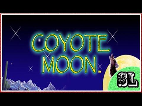 ** NICE  WIN ** Coyote Moon ** Max Bet Bonus ** SLOT LOVER **