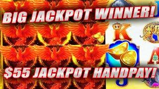 SUPER HIGH LIMIT BET ★ Slots ★ RED PHOENIX SLOT MACHINE JACKPOT WINNERS