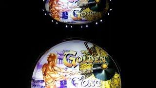 Aristocrat GOLDEN GONG - Bonus Win