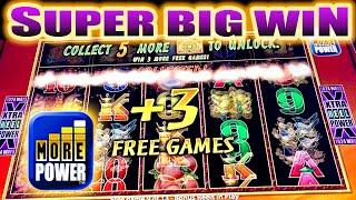 SUPER BIG WIN! PHOENIX RICHES SLOT MACHINE BONUS w/ ADDED FREE SPINS Aristocrat Slots
