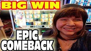 AMAZING COMEBACK & BIG WINS • VLR & DIANA GO TO RAMPART CASINO