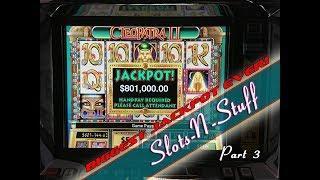 Second Biggest Cleopatra 2 jackpot on youtube! • Slots N-Stuff