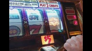 $10/spin Double Top Dollar Slots BONUS as it Happens