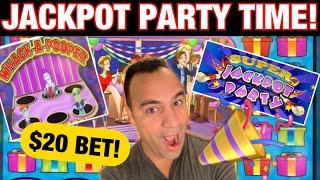 ⋆ Slots ⋆ $20 Bets on Super Jackpot Party w/ EPIC Whack a Pooper Feature!! ⋆ Slots ⋆ | ⋆ Slots ⋆ The