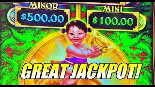 EPIC JACKPOT HANDPAY on High Limit Epic Fortunes Slot