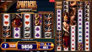 Spartacus Gladiator of Rome – Gratis WMS spilleautomat