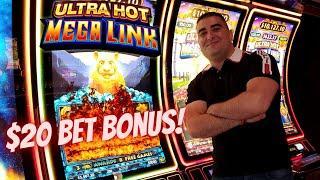 High Limit ULTRA HOT Mega Link & Ultimate Fire Link Slot Machine Bonuses| Nice WIN$ | SE-6 | EP-27