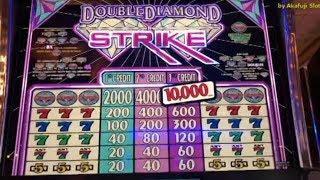 Double Diamond Strike• $1 Slot Machine @ Pechanga Resort & Casino カリフォルニア カジノ, アカフジ, 赤富士 スロット