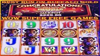 • SUPER FREE GAMES DOUBLE JACKPOT • MY BEST RUN ON BUFFALO GOLD • BIG WINS • HIGH LIMIT SLOTS