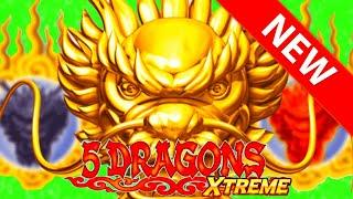 FIRST TO YOUTUBE! ⋆ Slots ⋆ NEW SLOT! ⋆ Slots ⋆ 5 DRAGONS XTREME!