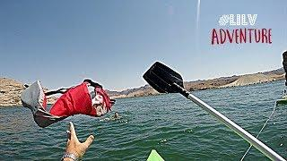 He almost DIED!!! Cliff Jumping near Vegas!