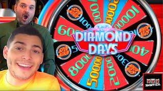 Diamonds for DAYS on Diamond Days Slot Machine