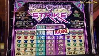 Jackpot LIVE /Handpay•Double Diamond Strike $1 Slot, 3x4x5 Times Pay @ Pechanga アカフジ, スロット, USカジノ