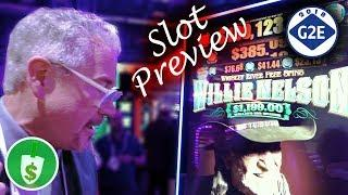 #G2E2018 Everi - Willy Nelson, The Karate Kid slot machines