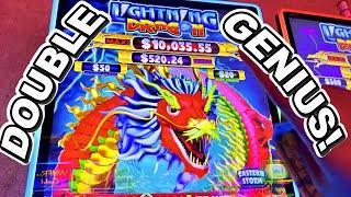SPECIAL DOUBLE GENIUS SUPREME COMEBACK!!!! * New Las Vegas Casino Slot Machine Bonus Win