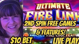 2nd SPIN FREE SPINS & FEATURES ULTIMATE FIRELINK