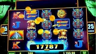 Winning Streak Jungle Wild Slot Machine *BIG WIN* Live Play Bonus!