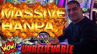 BIGGEST HANDPAY JACKPOT Ever On YouTube For High Limit Black Knight Slot Machine