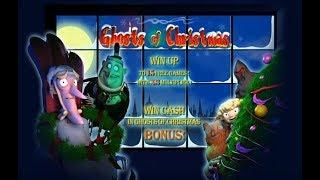 Ghosts of Christmas Online Slot from Playtech with Free Spins and Second Screen Bonus