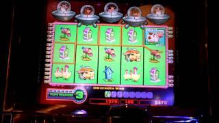 Return from Planet Moolah slot machine bonus win at Parx