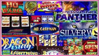 22 Slot Machines in 72Minutes!! •LIVE PLAY in REAL TIME• San Manuel Casino in SoCal