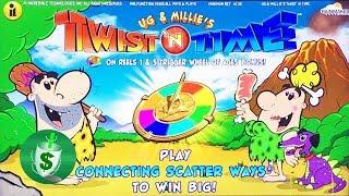 ++NEW Ug & Millie's Twist 'N Time slot machine