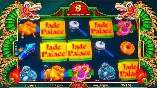 INCREDIBLE PICKING! Big Wins! LIVE PLAY on Jade Palace Slot Machine with Bonuses