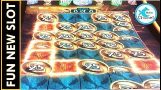 A NEW LICENSED SLOT THAT ACTUALLY BONUSES...A LOT! THE HOBBIT SLOT MACHINE IS SO MUCH FUN!