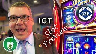 #G2E2018 IGT - Diamond Mania, IncrediBell Tournament, Shadow Masquerade slot machines