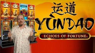 NEW GAME• •YUNDAO ECHOES OF FORTUNE•Free Spins By Bluberi