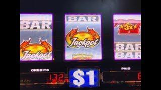 Akafuji Slot•High Limit Slot - Blazin' GEMS Dollar Slot Machine Bet $21- Pechanga Casino