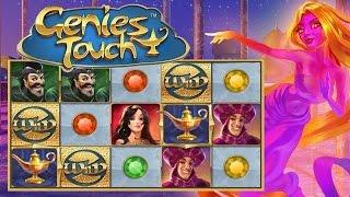 Genie's Touch Online Slot from Quickspin •