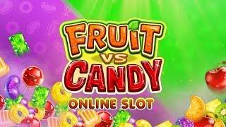 Fruit VS Candy - BIG WIN - Microgaming Slot - 1,80€ BET!